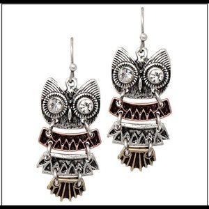 Cutest owl earrings ever